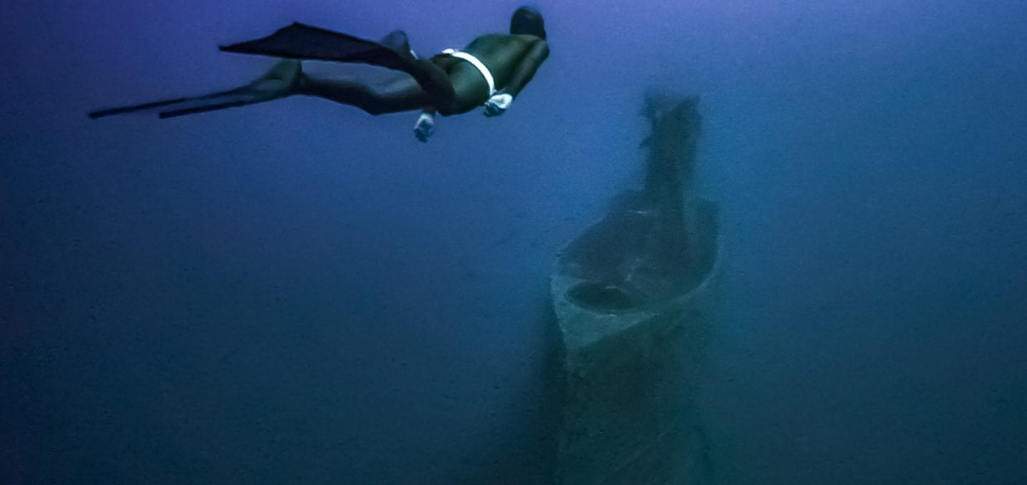 HMS Perseus freedive submarine wreck freediving