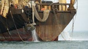 argiris supertrawler fishing in the English Channel