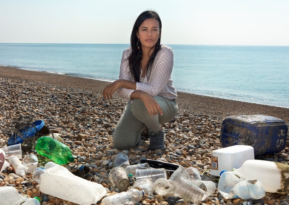 Liz Bonnin Plastic Pollution