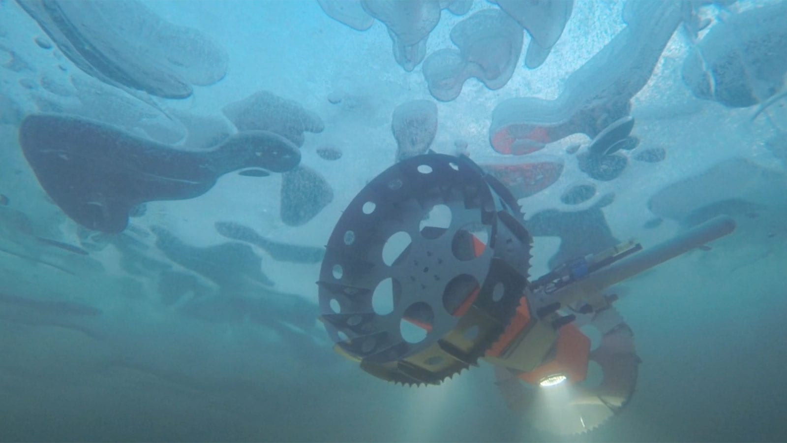 NANA BRUIE Antarctica space robot