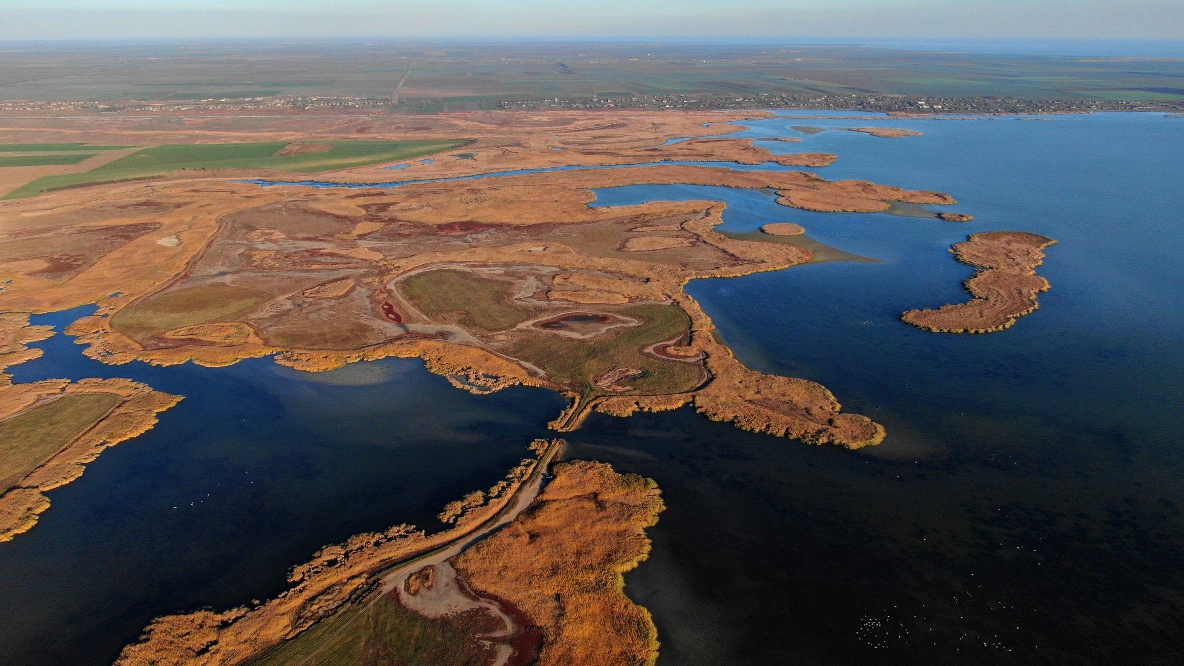 Rewilding Europe Ukraine dams