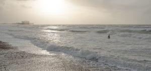 Brighton West Pier wreck Will Appleyard UK sea swimmer