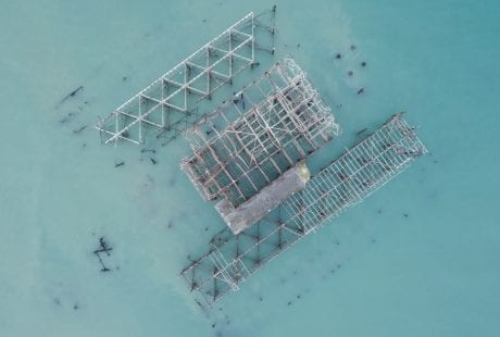 Brighton West Pier wreck Will Appleyard UK sea drone