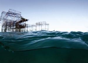 Brighton West Pier wreck Will Appleyard UK sea