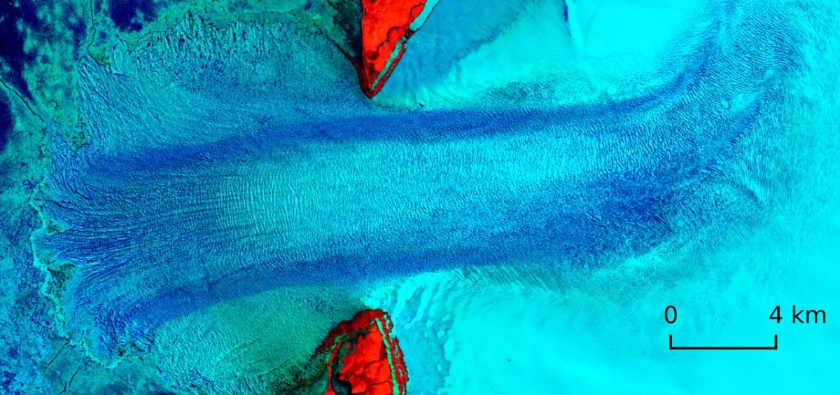 Vavilov ice cap arctic global heating