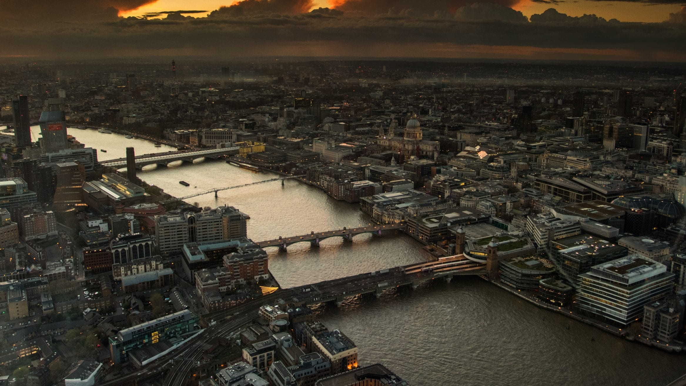 London microplastic particles