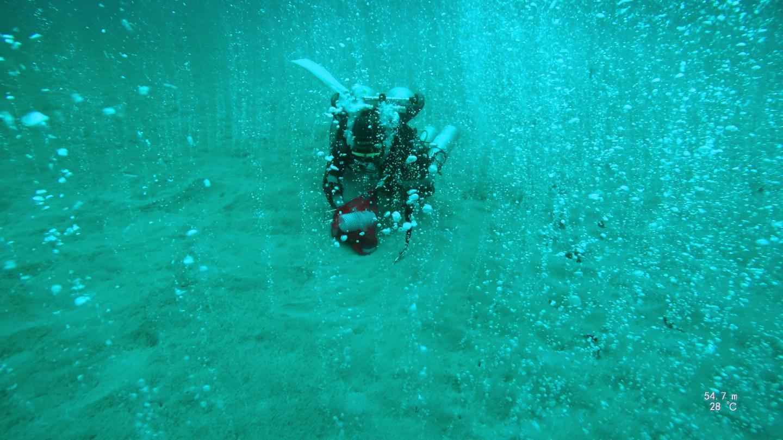 deep ocean carbon dioxide hotspot
