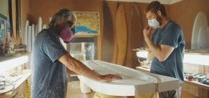 surf board shaping Cigarette Surfboard