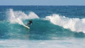Jack Johnson Cigarette Surfboard