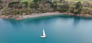 elixir boat ocean sailing drone