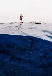Maewan Adventure Base sup paddleboard