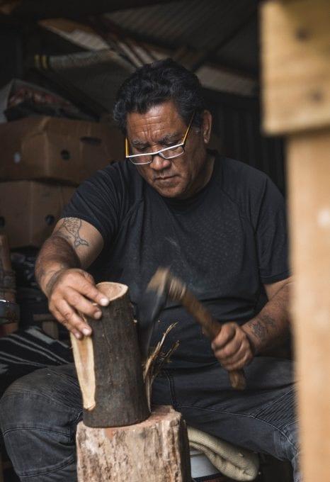 Maewan Adventure Base woodworking