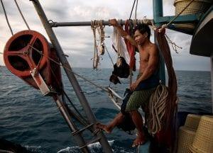Ian Urbina The Outlaw Ocean fisher at sea