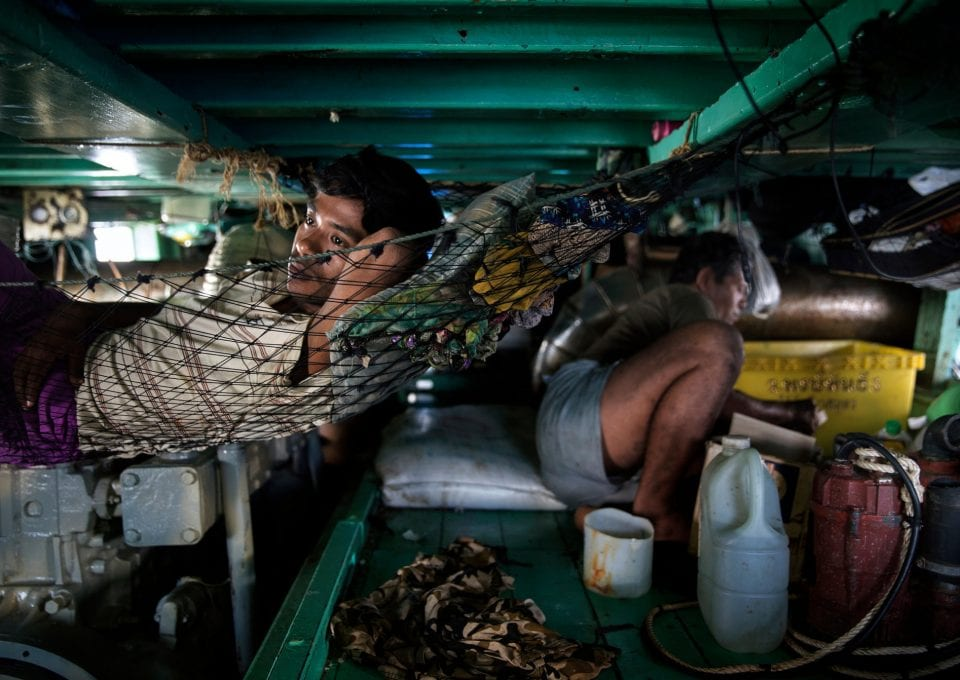 Ian Urbina The Outlaw Ocean hammocks
