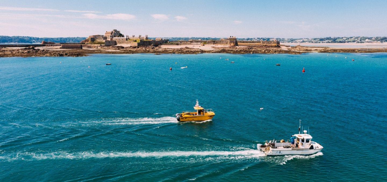 Jersey fishermen drone