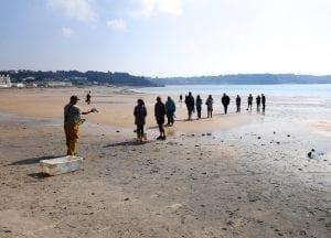 Jersey fishermen beach fishmonger