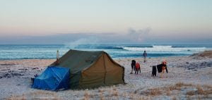 Finisterre Natural History Museum beach camping
