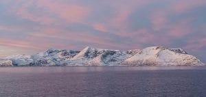 polar night arctic light pollution marine organisms sunrise
