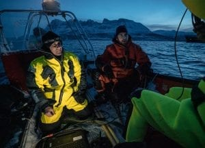 polar night arctic light pollution marine organisms research