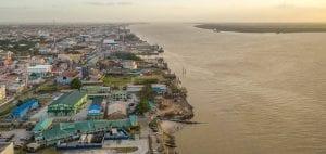 Guyana World Bank Big Oil offshore drilling coastline