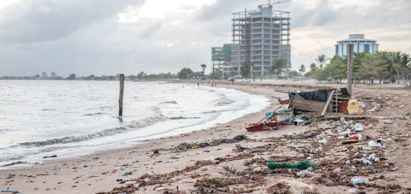 Guyana World Bank Big Oil offshore drilling plastic pollution