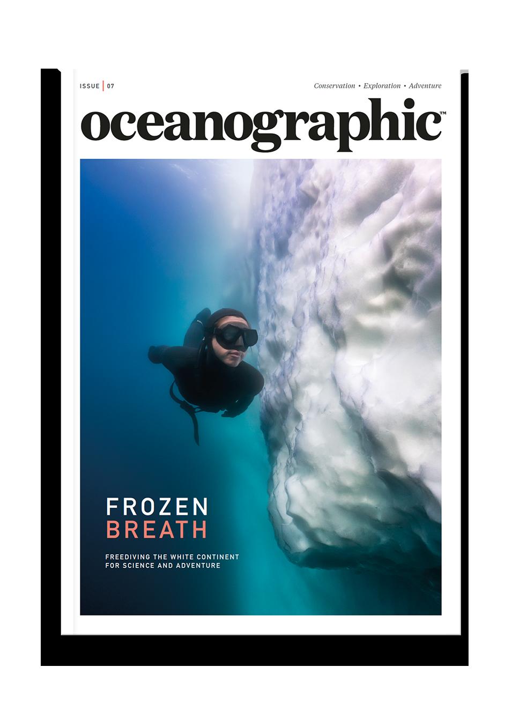 Oceanographic Magazine, Issue 07, Frozen breath