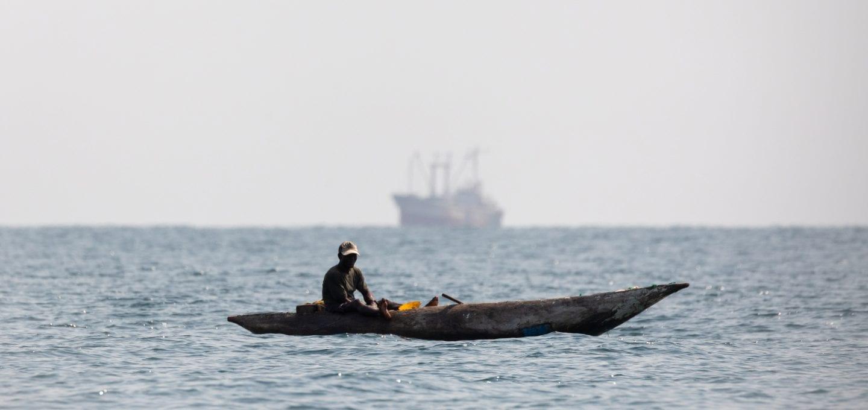 Saiko Ghana Environmental Justice Foundation trawlers