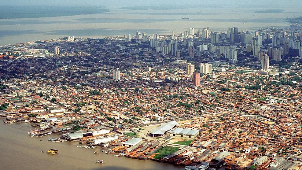 Belem Brazil river deltas global flooding