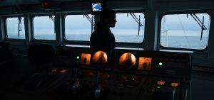 Greenpeace Dogger Bank MPA illegal trawling on board