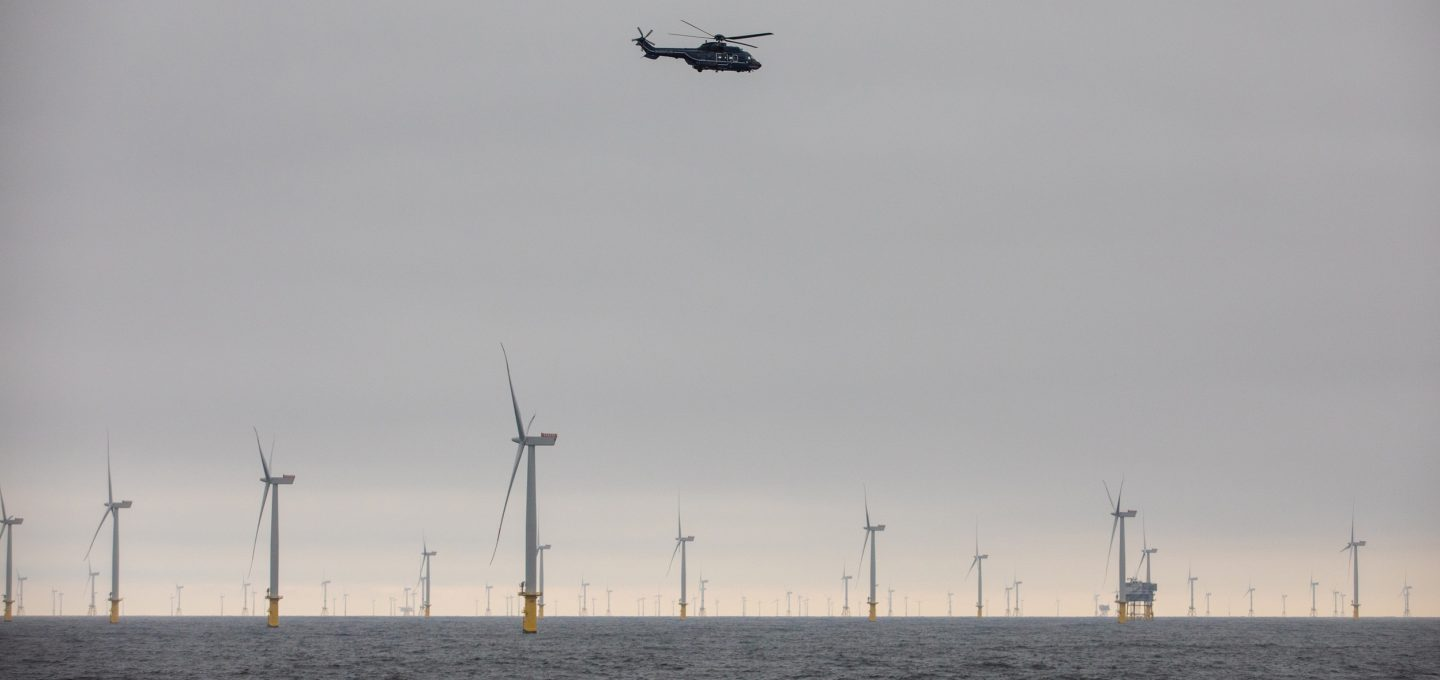 Greenpeace Dogger Bank MPA illegal trawling police helicopter wind farm