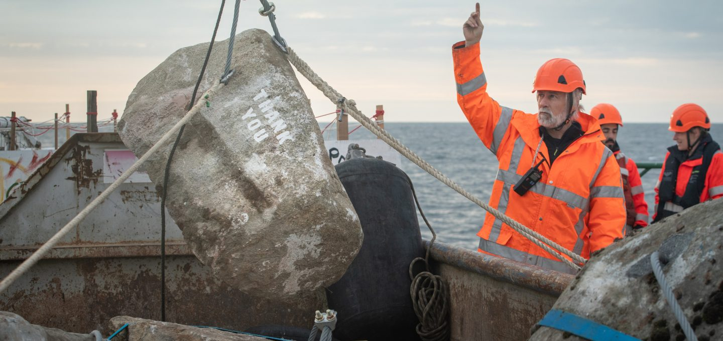 Greenpeace Dogger Bank MPA illegal trawling boulder