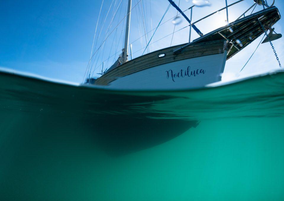 Lou Luddington sailing