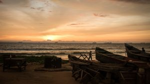 Shark fishing Republic of Congo TRAFFIC coastline