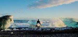 ACOTE extreme surfing iceland ice waves