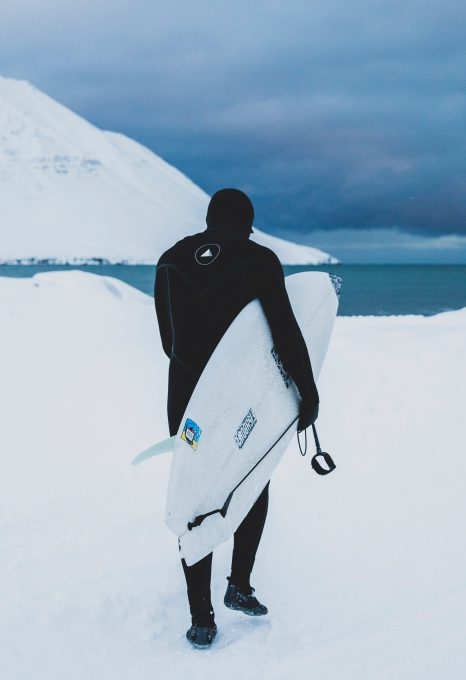 ACOTE extreme surfing iceland board