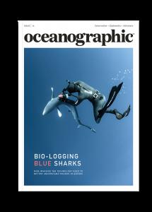 Oceanographic Magazine, Issue 16, Bio-logging blue sharks