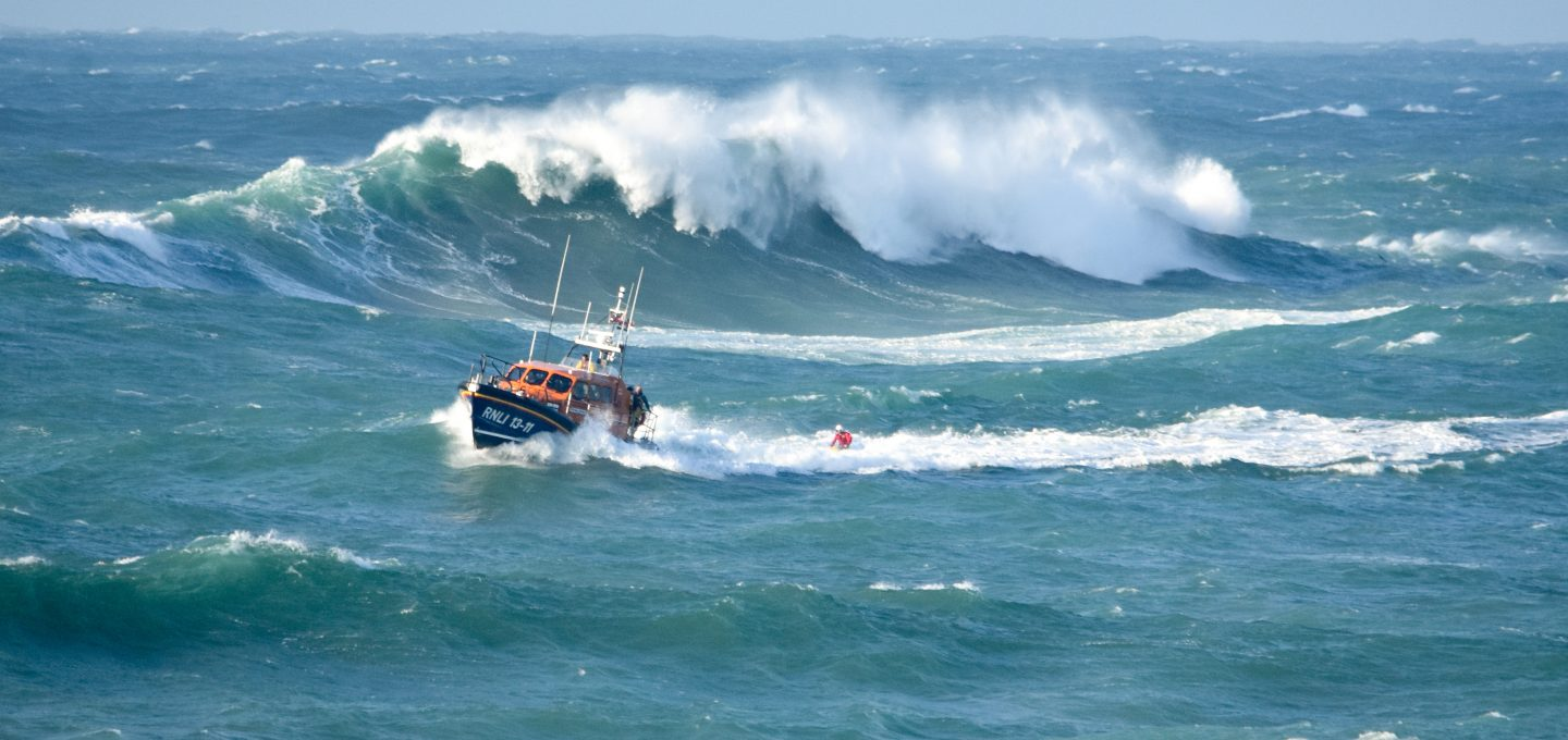 RNLI lifeboat rescue