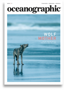 Oceanographic, Issue 17, Wolf mother