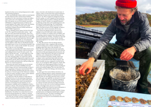 Issue 18, Oceanographic Magazine, Native oysters, Loch Craignish