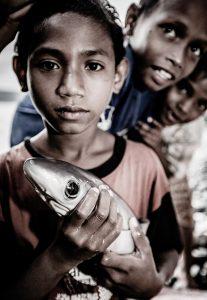 Alor village children