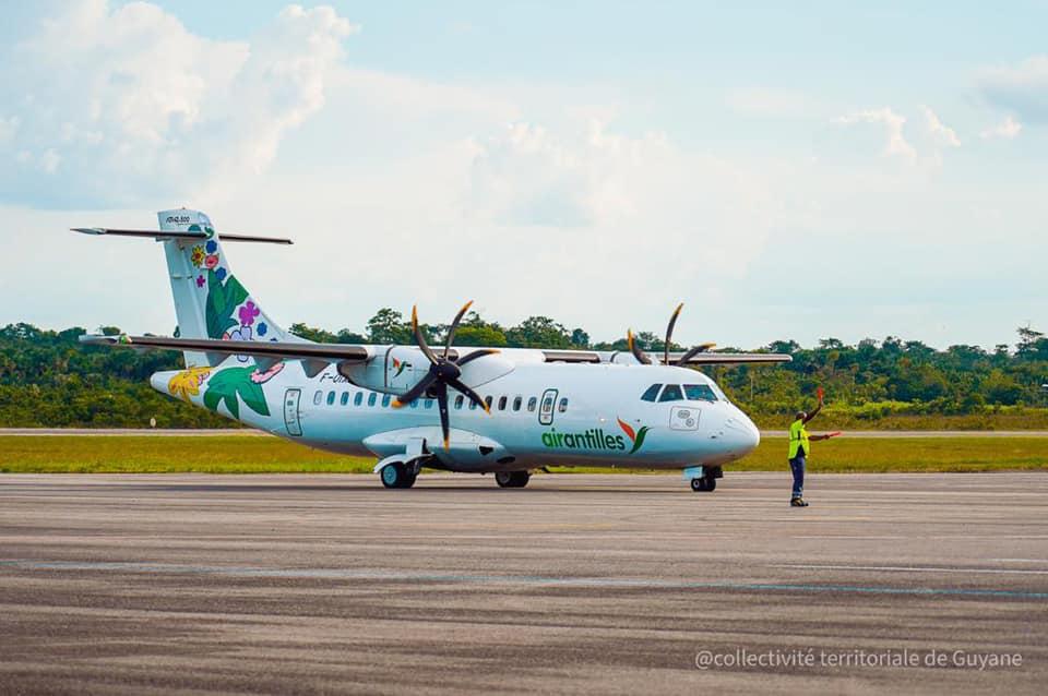 Guyane : Arrivée d'un nouvel appareil pour la compagnie Air Guyane
