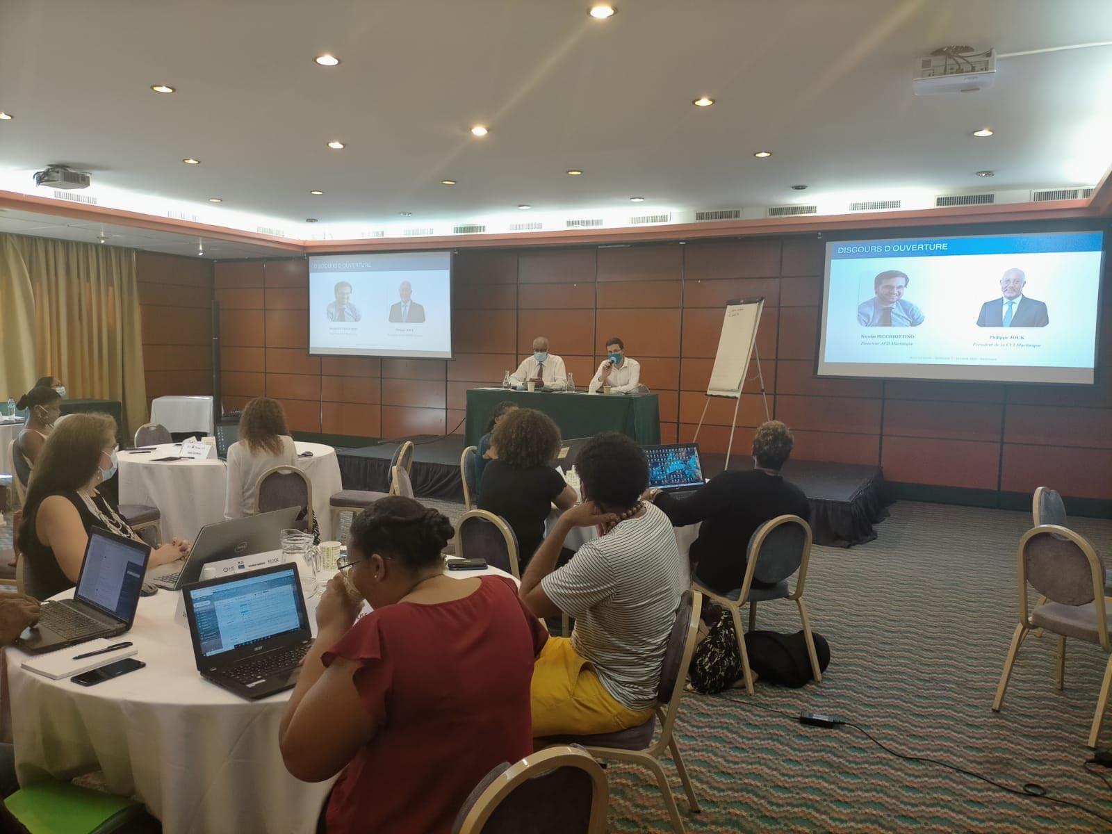 Martinique : Le premier séminaire du dispositif Mouv' Outremer mis en place