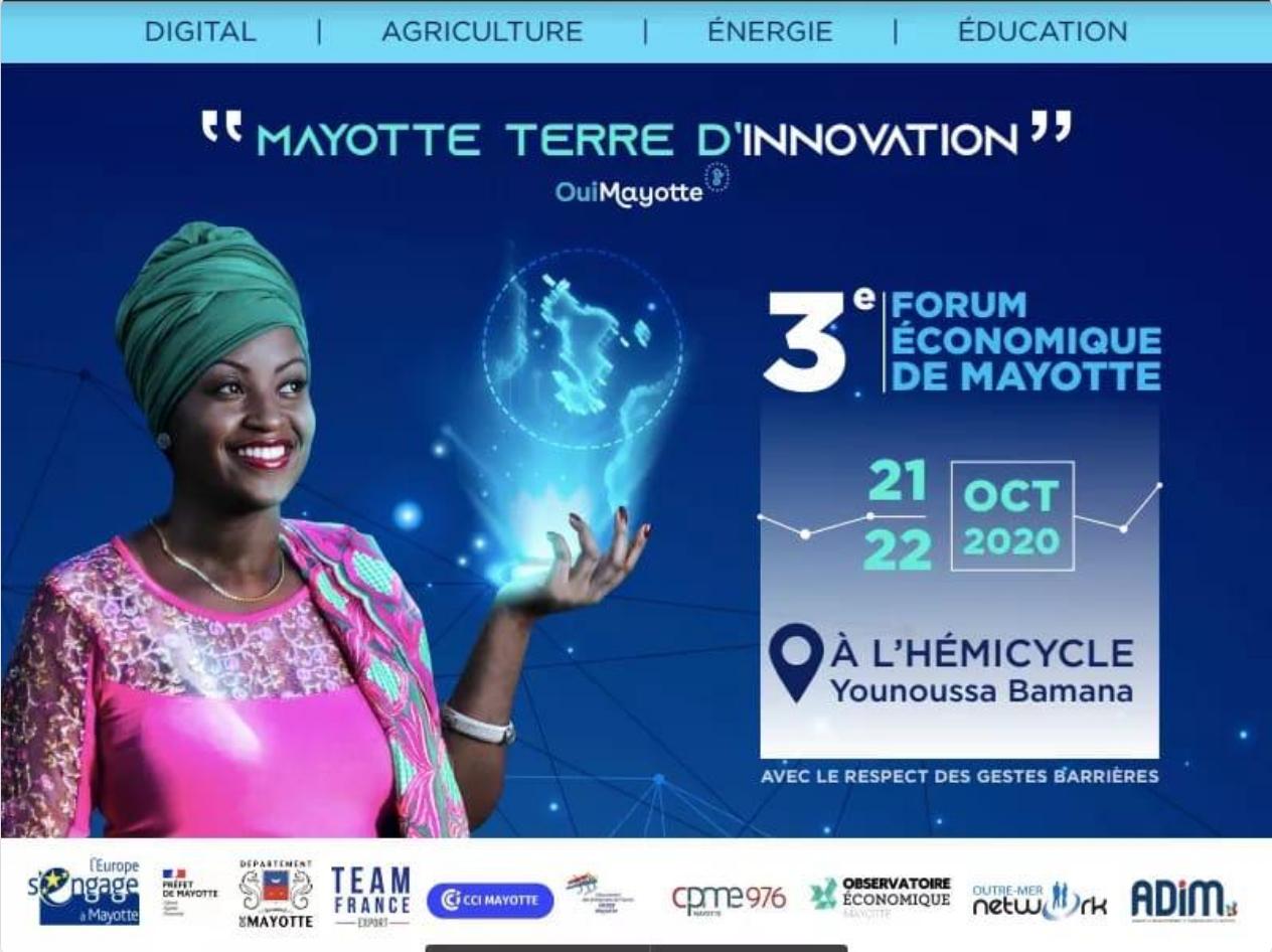 Gros succès pour la 3ème édition  du Forum économique de Mayotte autour de l'innovation et des projets gaziers