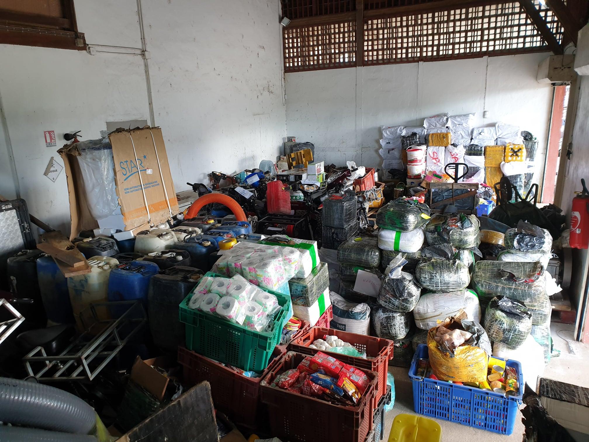 Guyane : Saisie de 19 tonnes de matériel destiné à l'orpaillage illégal