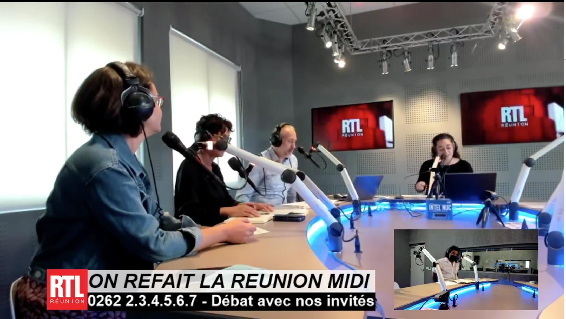Suivez en direct l'émission-débat  spéciale « On Refait La Réunion » consacrée à la place de la langue créole à La Réunion