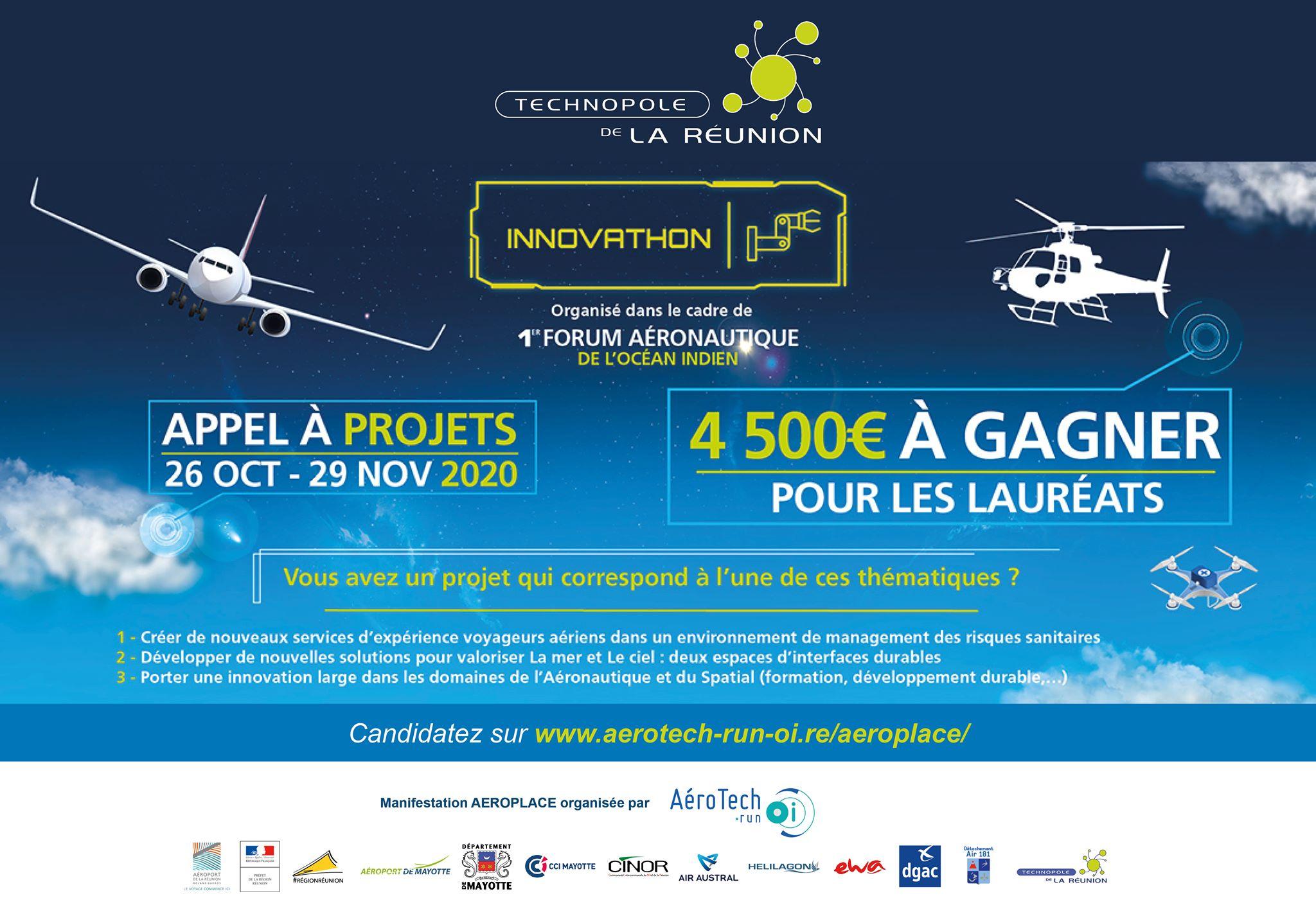 La Technopole Réunion lance un appel à projets sur l'aérien