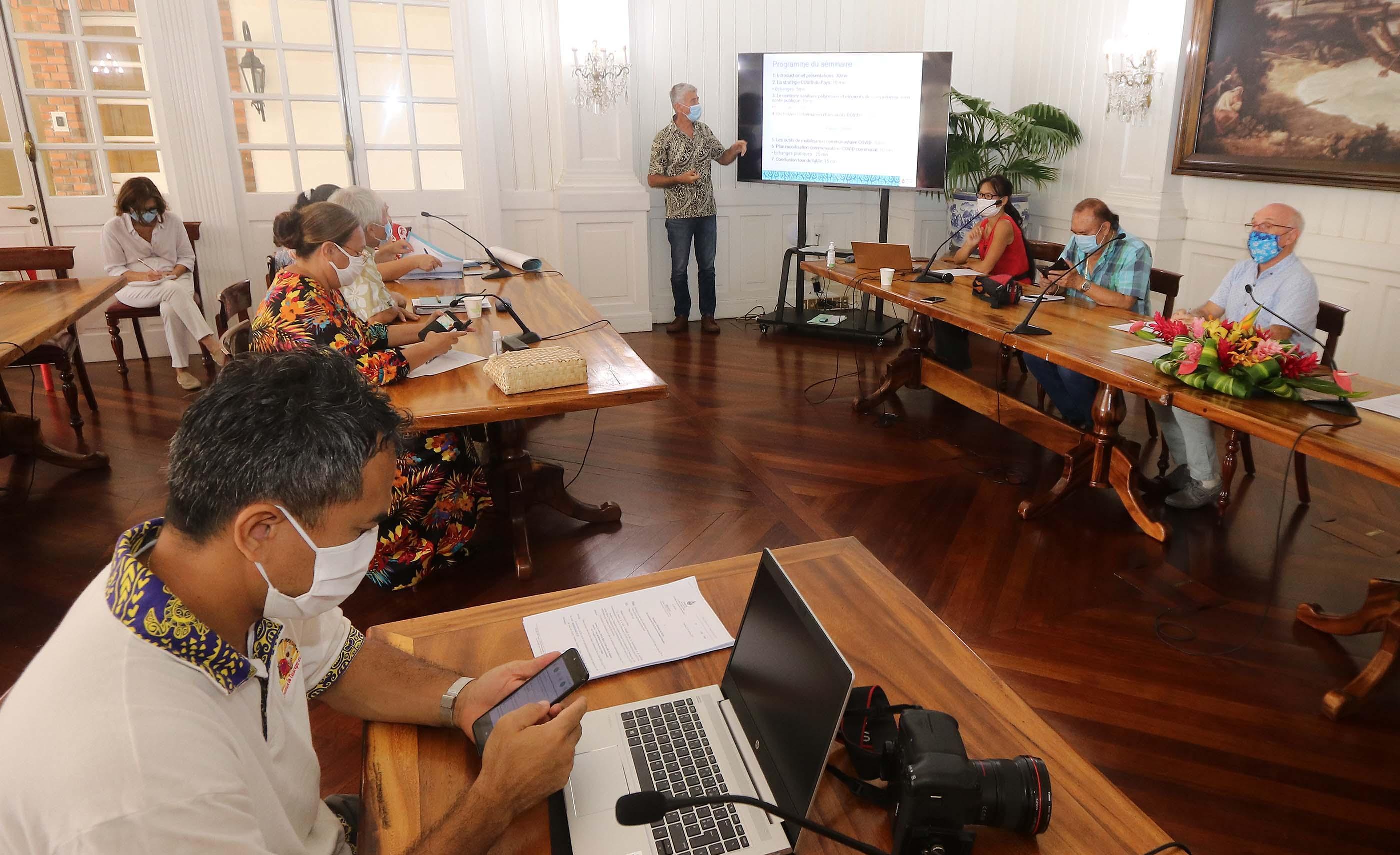 En Polynésie, un plan Covid-19 pour les communes de Tahiti et Moorea