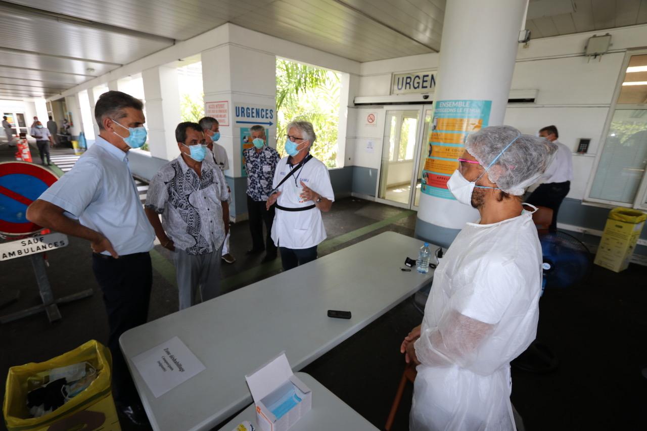 Covid-19 : En Polynésie, un «appui» régional possible pour le Centre hospitalier sous tension