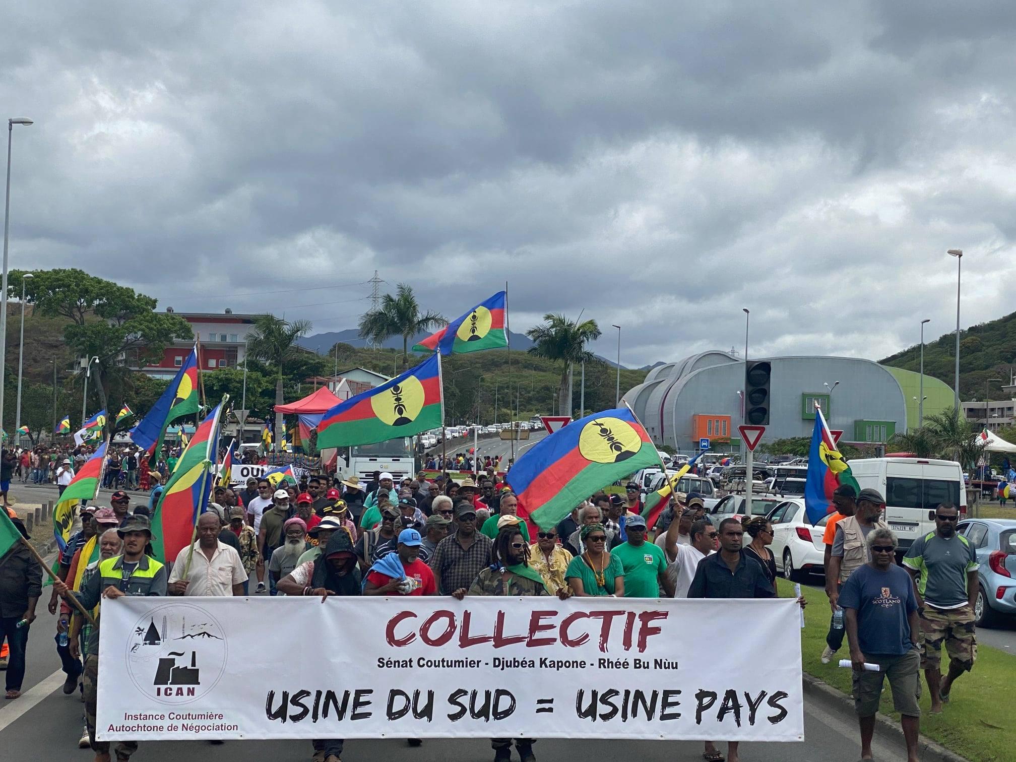 Nouvelle-Calédonie : Manifestation en faveur de l'offre Sofinor-Korea Zinc, le collectif « Usine du sud = usine pays » reçu au gouvernement