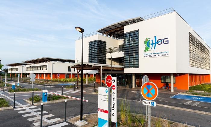 Guyane :  Plan blanc déclenché au service de néonatologie au centre hospitalier de Saint Laurent du Maroni